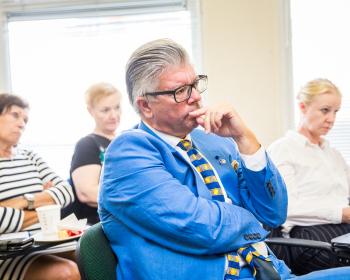 """Šiaurės tarybos konservatorių pirmininkas: """"EHU yra reikšmingas institucijų susikūrimo pavyzdis"""""""